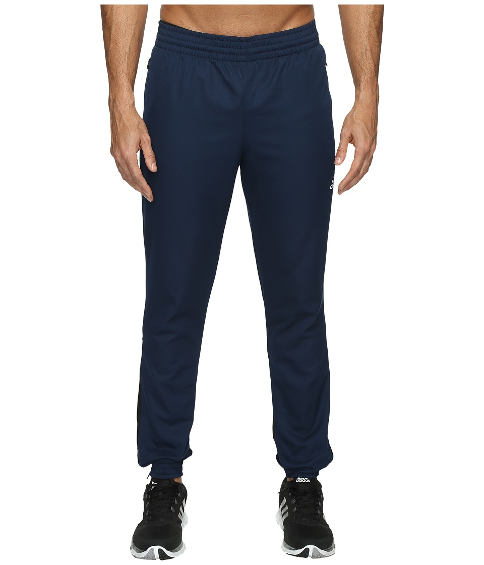 adidas - Woven Taper Pants (Collegiate Navy) Men's Casual Pants