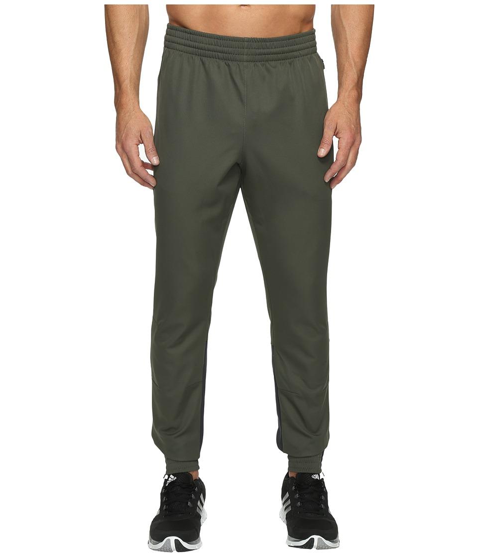 adidas - Woven Taper Pants (Utility Grey) Men's Casual Pants