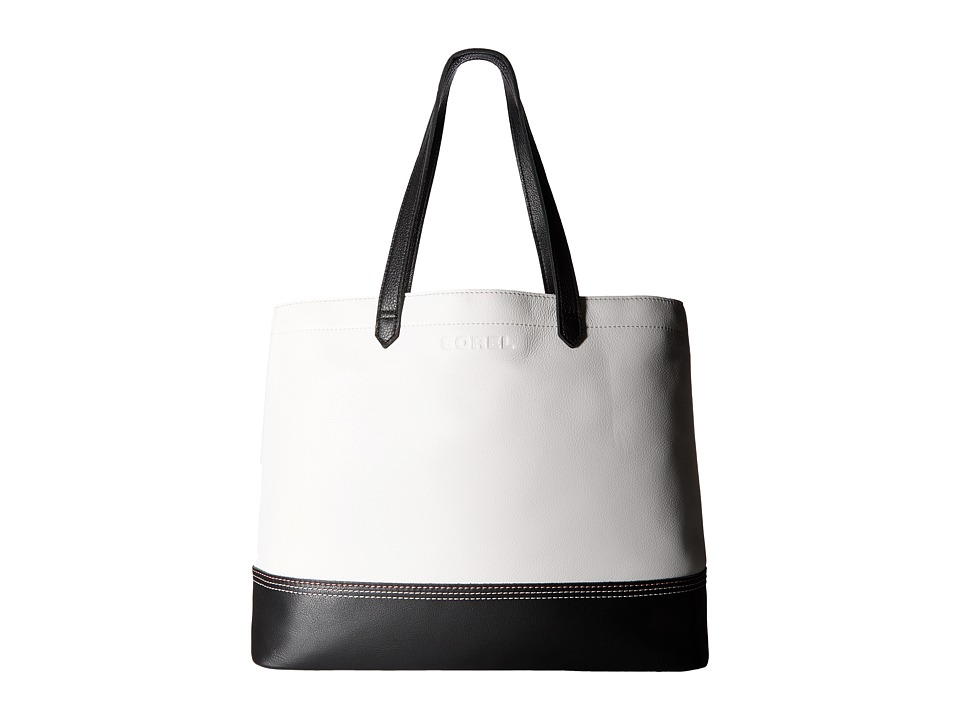 SOREL - Leather Tote (Sea Salt) Tote Handbags