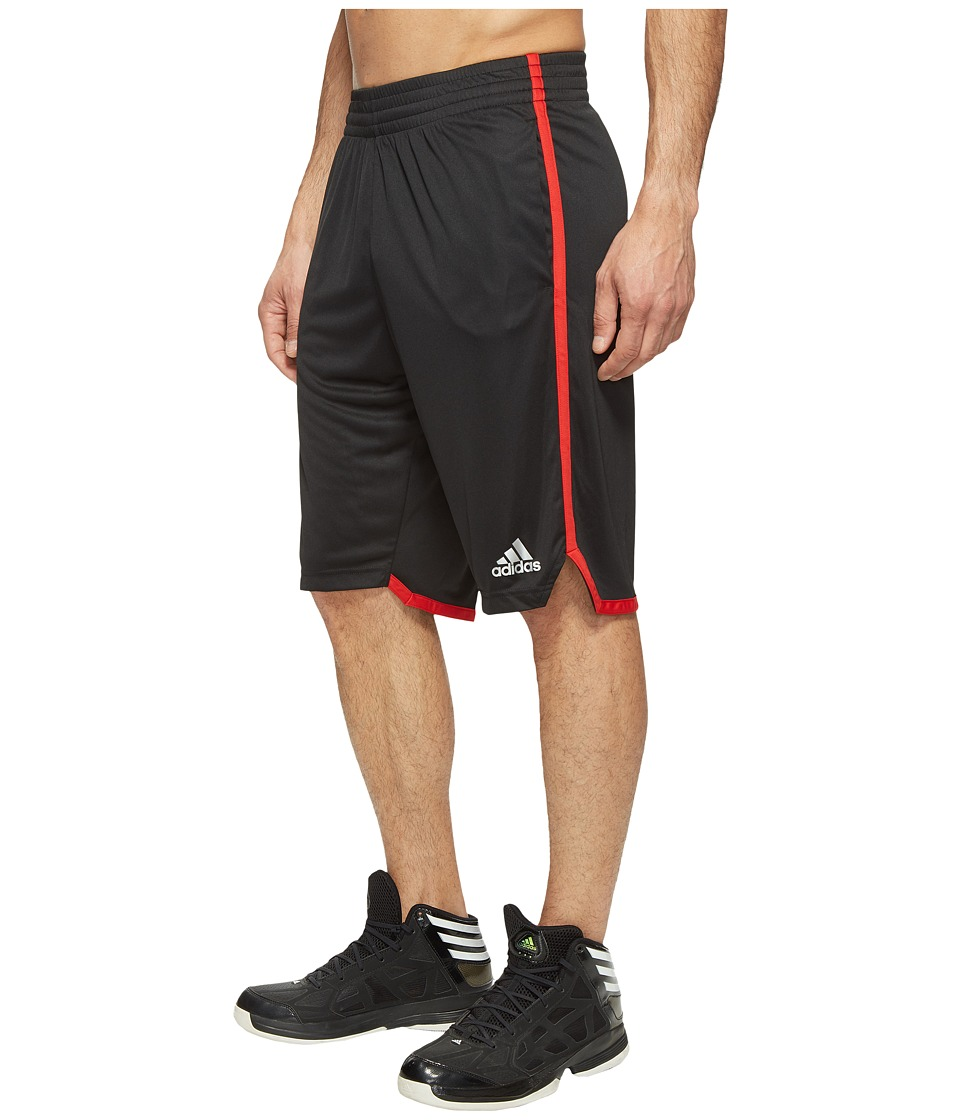 adidas - Clima BB Shorts (Black/Scarlet) Men's Shorts