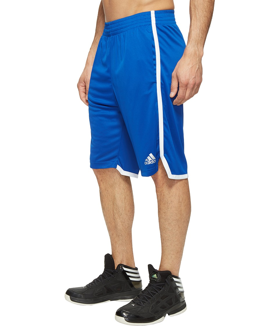 adidas - Clima BB Shorts (Collegiate Royal/Dark Grey Heather Solid Grey/White) Men's Shorts