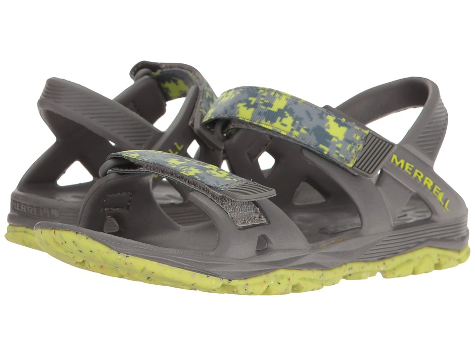 Merrell Kids - Hydro Drift (Toddler/Little Kid/Big Kid) (Grey/Lime) Boys Shoes