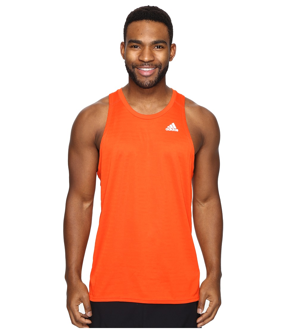 adidas - Response Singlet (Energy S17) Men's Sleeveless