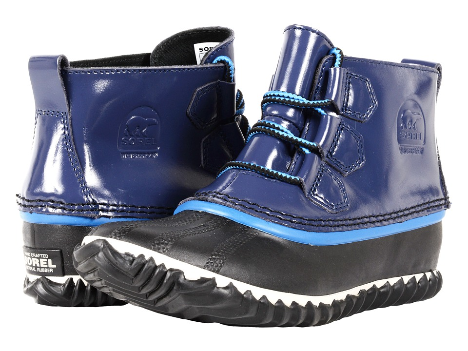 SOREL - Out 'N About Rain (Nocturnal) Women's Rain Boots
