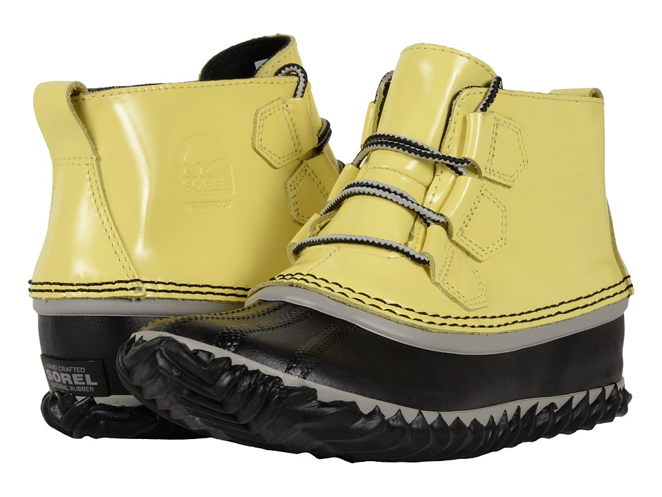 SOREL - Out 'N About Rain (Zest/Dove) Women's Rain Boots