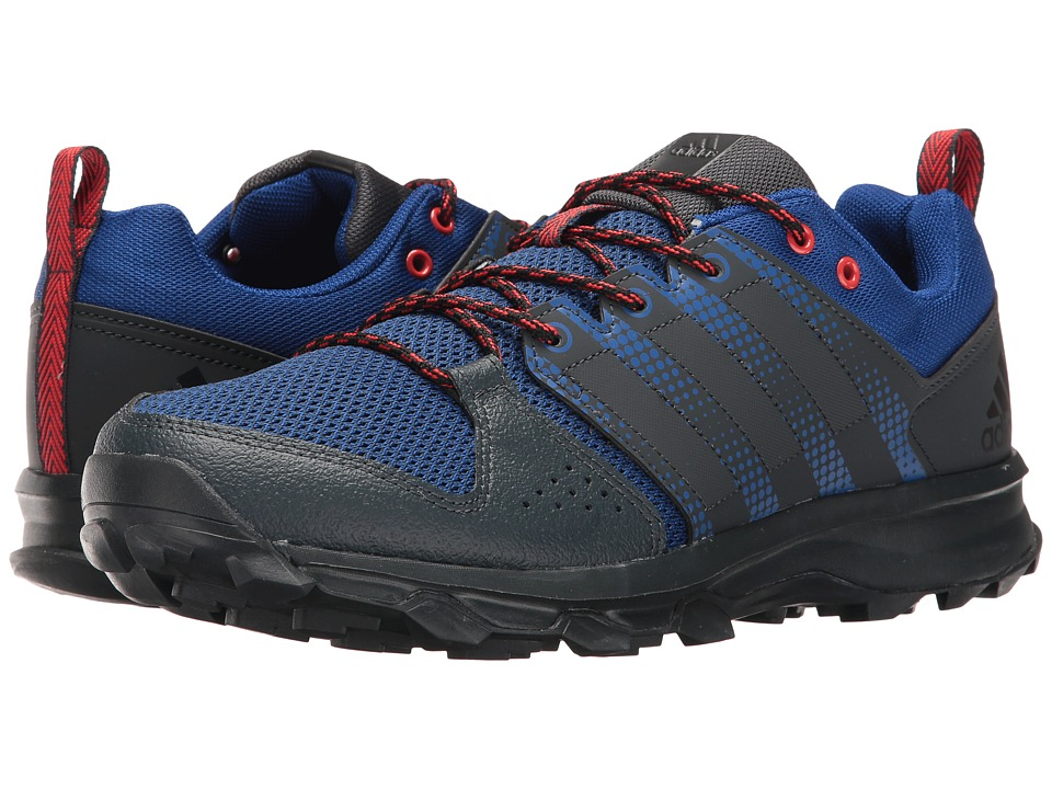 adidas - Galaxy Trail (Dark Grey/Collegiate Royal/Core Black) Men's Running Shoes