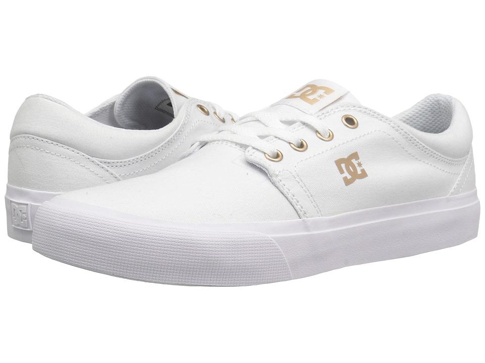 DC - Trase TX (White/Gum) Women's Skate Shoes