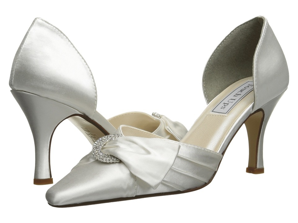 Touch Ups - Katrina (White Satin) High Heels