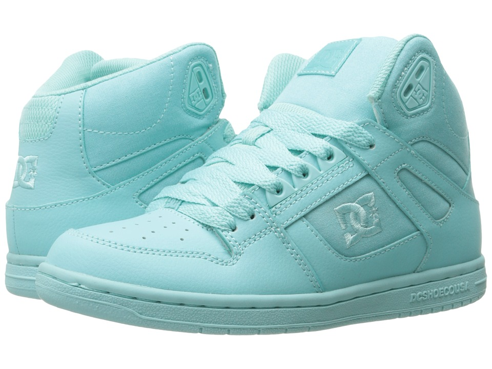 DC - Rebound Hi W (Aqua) Women's Skate Shoes