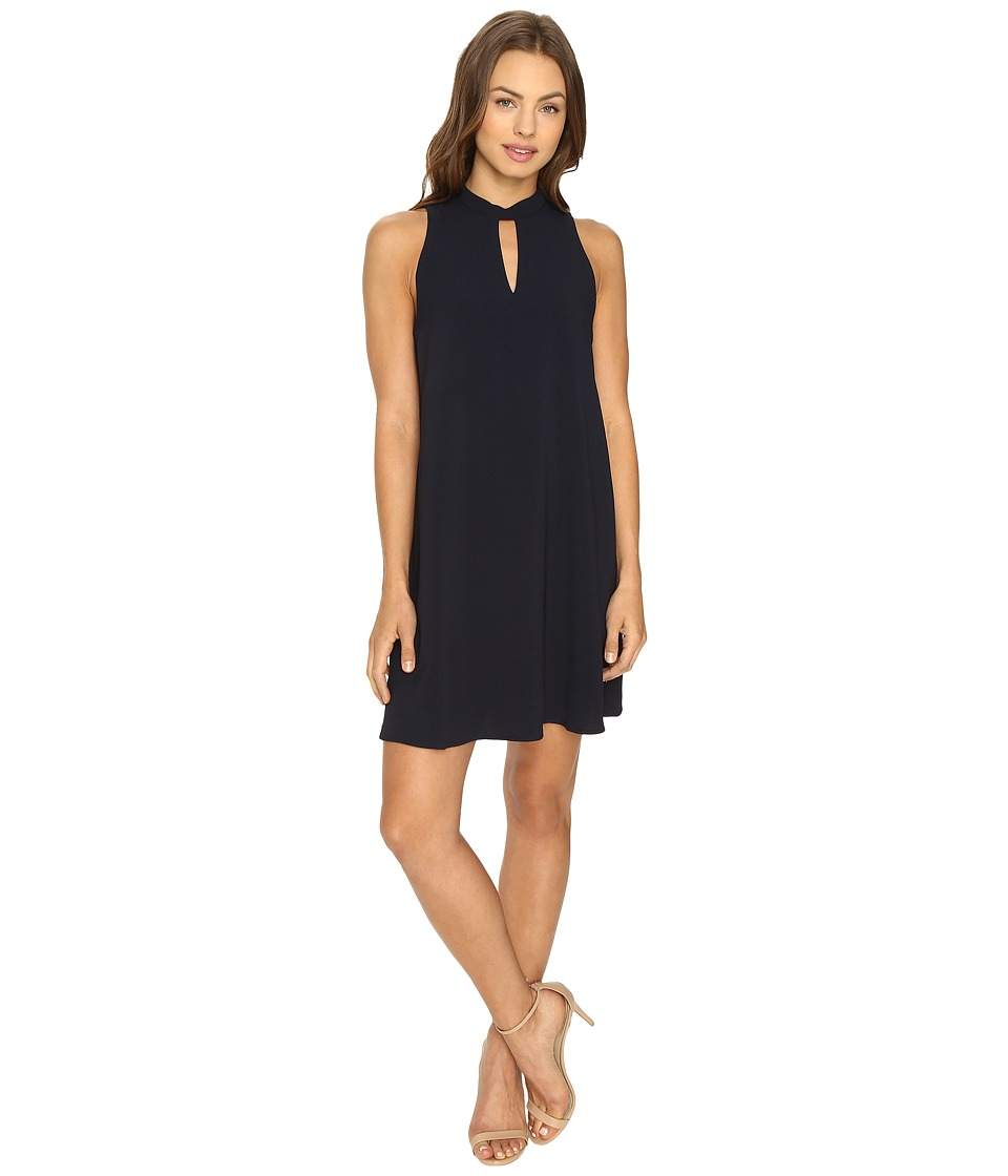 Brigitte Bailey - Chase Sleeveless Keyhole Dress (Navy) Women's Dress