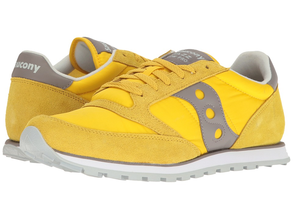 Saucony Originals - Jazz Low Pro (Yellow) Men's Classic Shoes