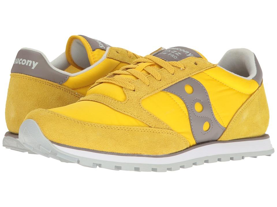 Saucony Originals Jazz Low Pro (Yellow) Men