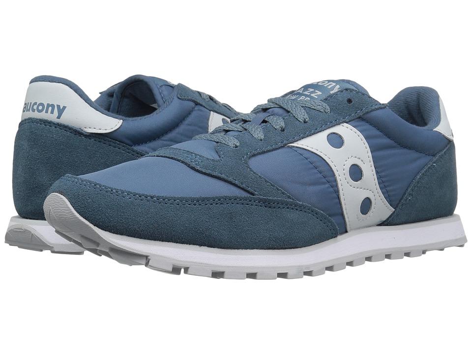 Saucony Originals - Jazz Low Pro (Light Blue/White) Men's Classic Shoes
