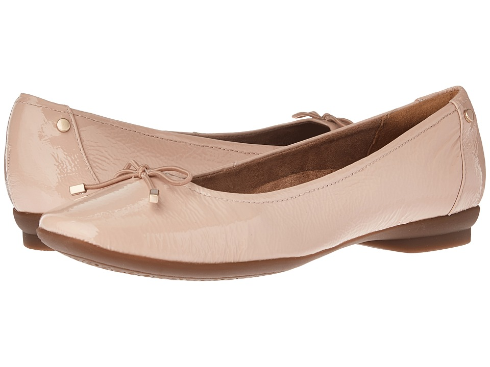 Clarks - Candra Light (Dusty Pink Patent) Women's Shoes