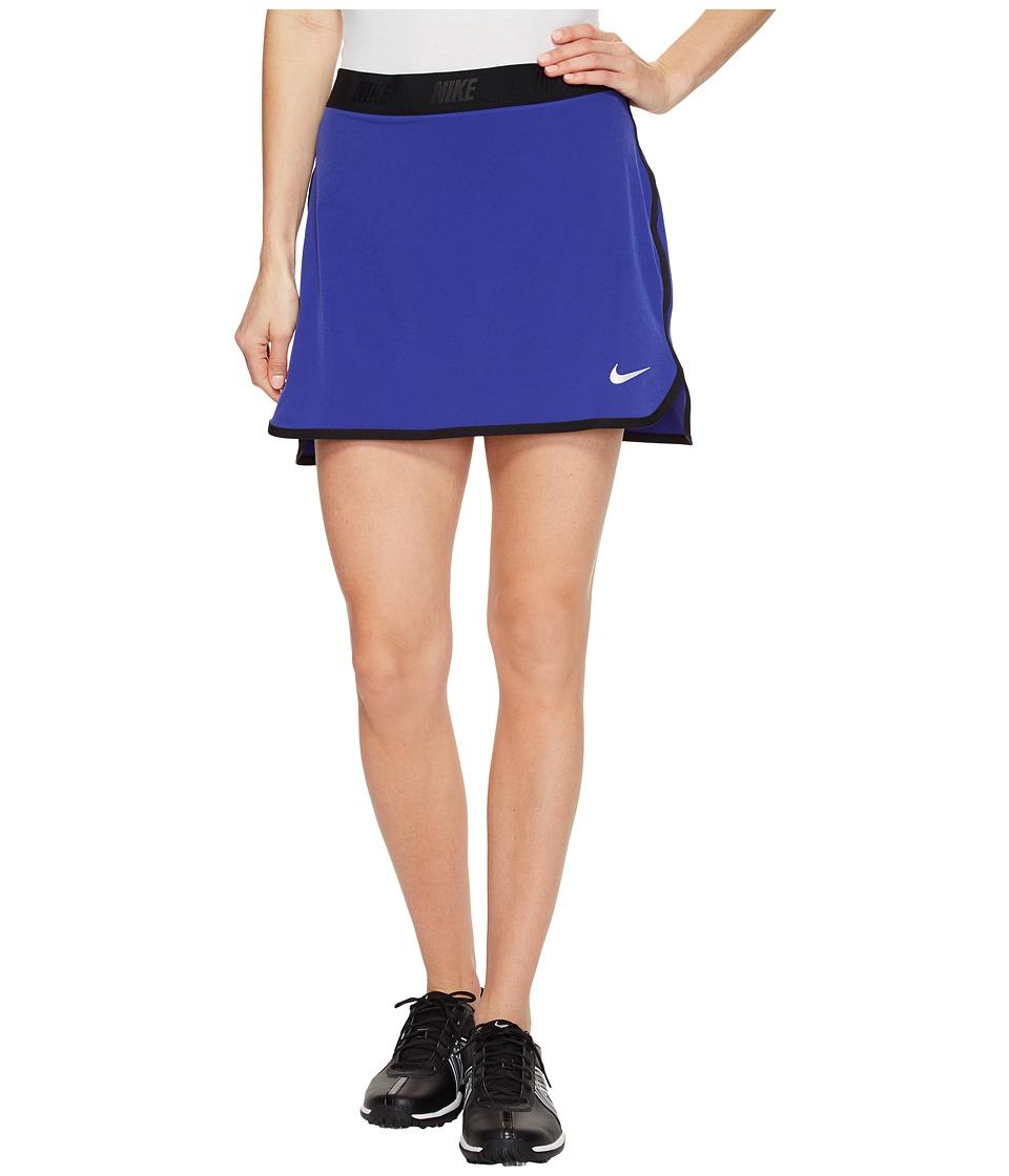 Nike Golf - Fringe Flip Skort Solid (Deep Night/Black/Metallic Silver) Women's Skort