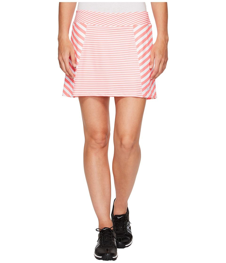 Nike Golf Precision Knit Print Skort 2.0 (Racer Pink/White/Metallic Silver) Women