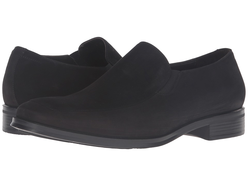 Bruno Magli - Pitto (Black 1) Men's Slip-on Dress Shoes
