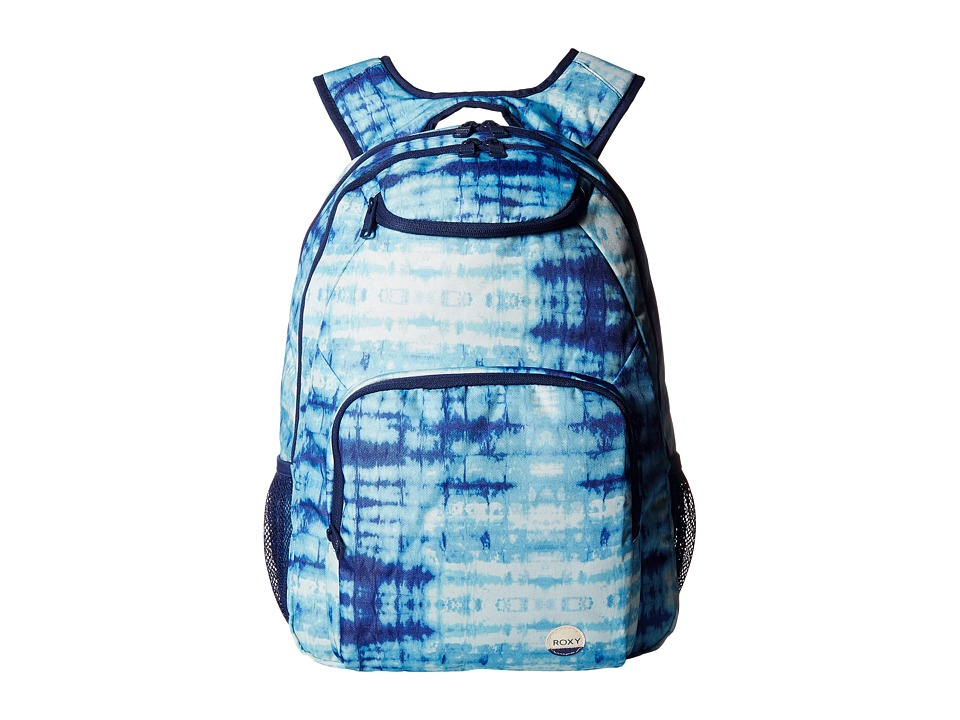 Roxy - Shadow Swell (Marshmallow Antares Tie-Dye) Backpack Bags