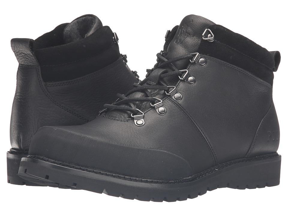Polo Ralph Lauren - Wittier (Black/Black) Men's Slip on Shoes