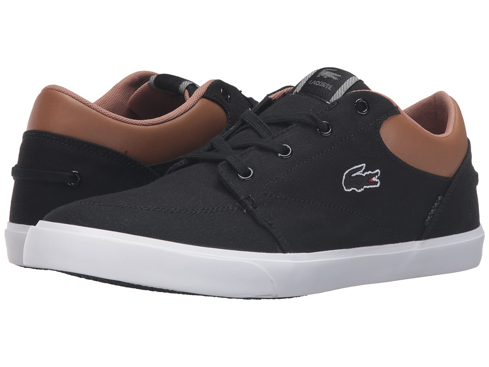Lacoste - Bayliss Vulc VST2 US (Black/Brown) Men