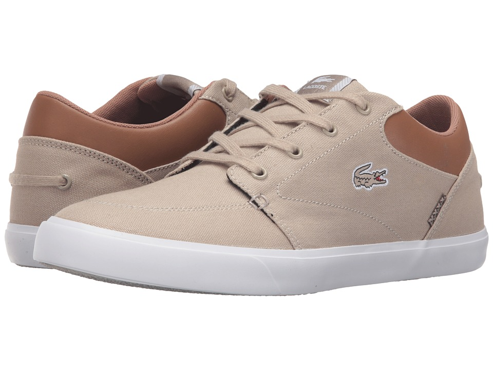 Lacoste - Bayliss Vulc VST2 US (Light Brown/Light Brown) Men
