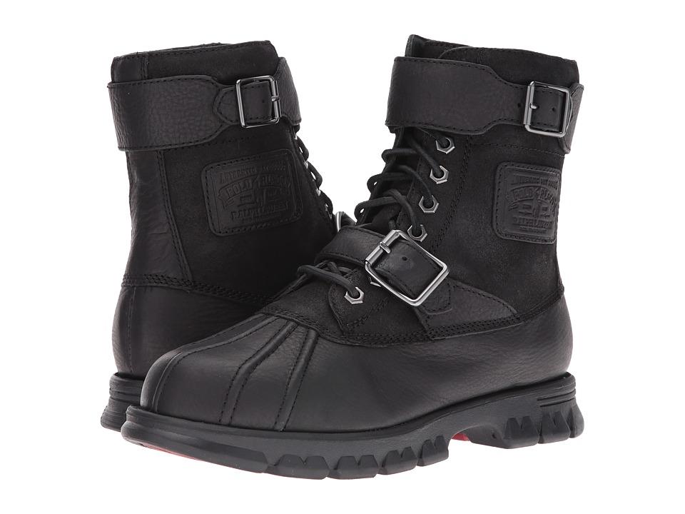 Polo Ralph Lauren - Drax (Black/Black) Men's Shoes