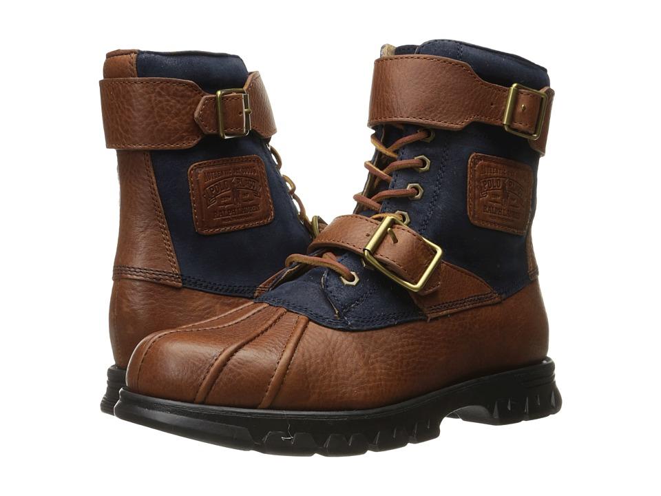 Polo Ralph Lauren - Drax (Tan/Newport Navy) Men's Shoes