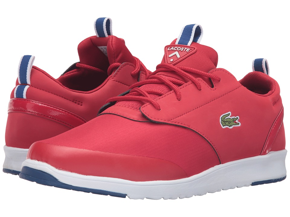 Lacoste - L.IGHT 2.0 TCL (Red/Red) Men's Shoes
