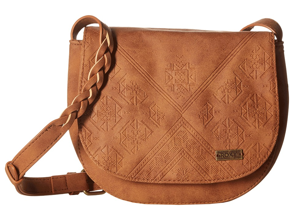 Roxy - Material Love (Camel) Cross Body Handbags