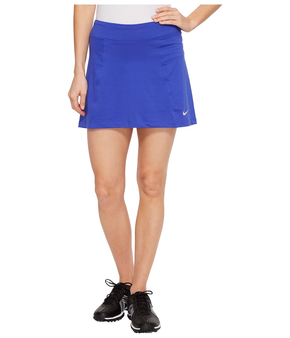 Nike Golf 14.5 Solid Knit Skort (Paramount Blue/Metallic Silver) Women