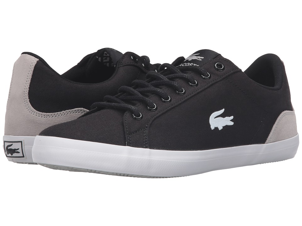 Lacoste - Lerond Sep (Black/Natural) Men's Shoes
