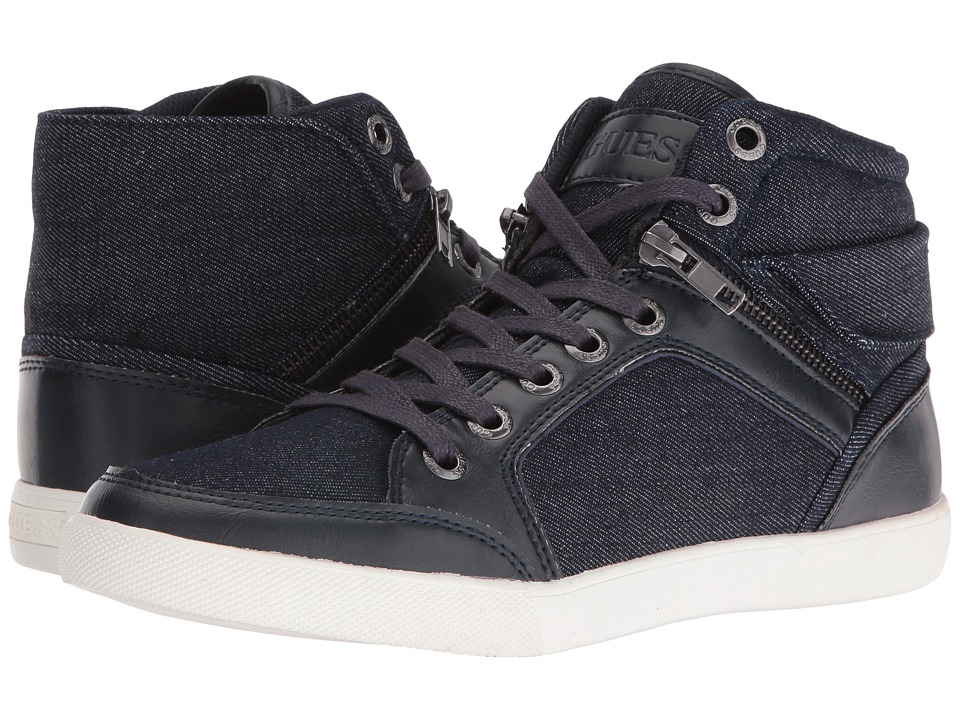 GUESS - Justice 2 (Navy/Navy) Men's Shoes