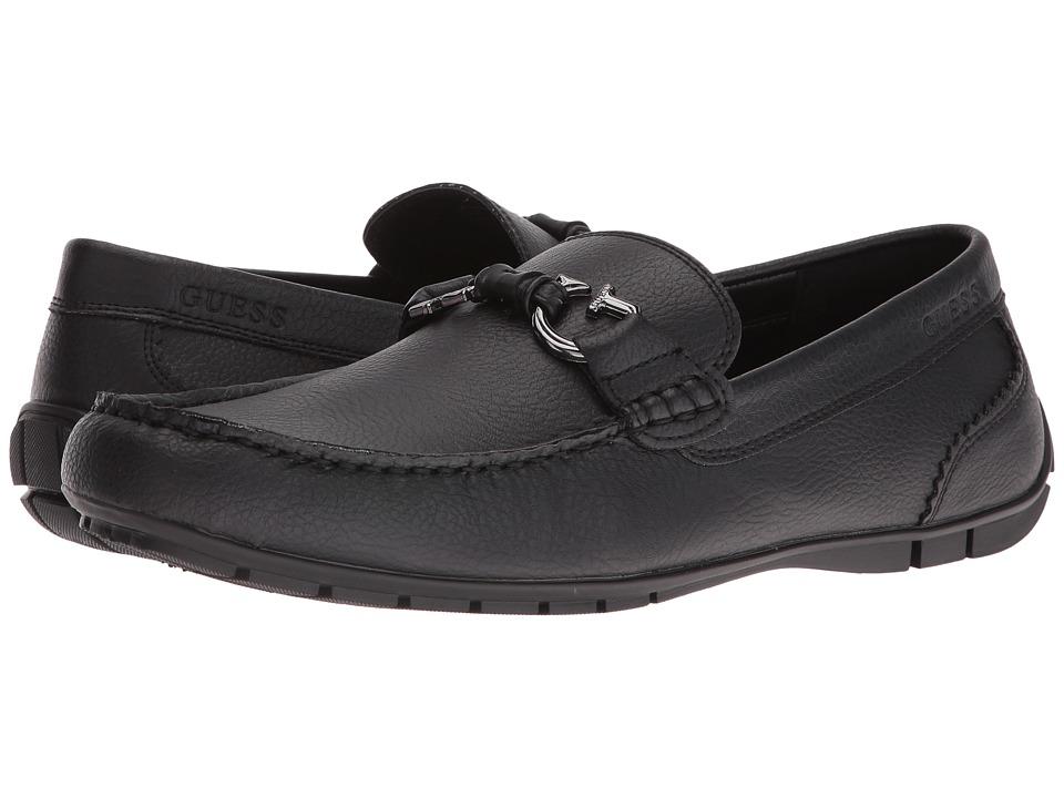 GUESS - Mckinley (Black) Men's Shoes