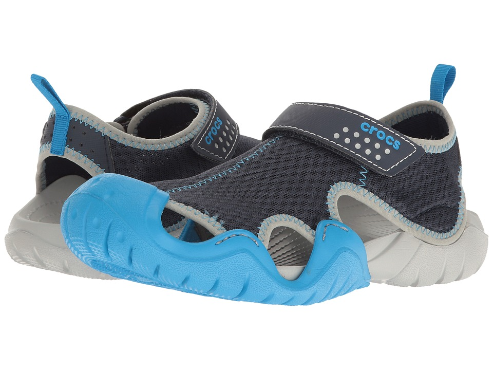 Crocs - Swiftwater Sandal (Navy/Ocean) Men's Sandals