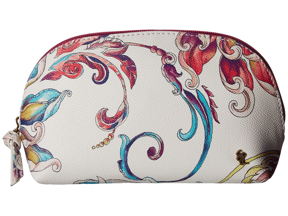 Elliott Lucca - Dome Cosmetic (White Wildflower) Cosmetic Case