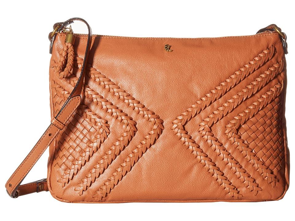 Elliott Lucca - Mari Medium Crossbody (Cognac Nusadua) Cross Body Handbags