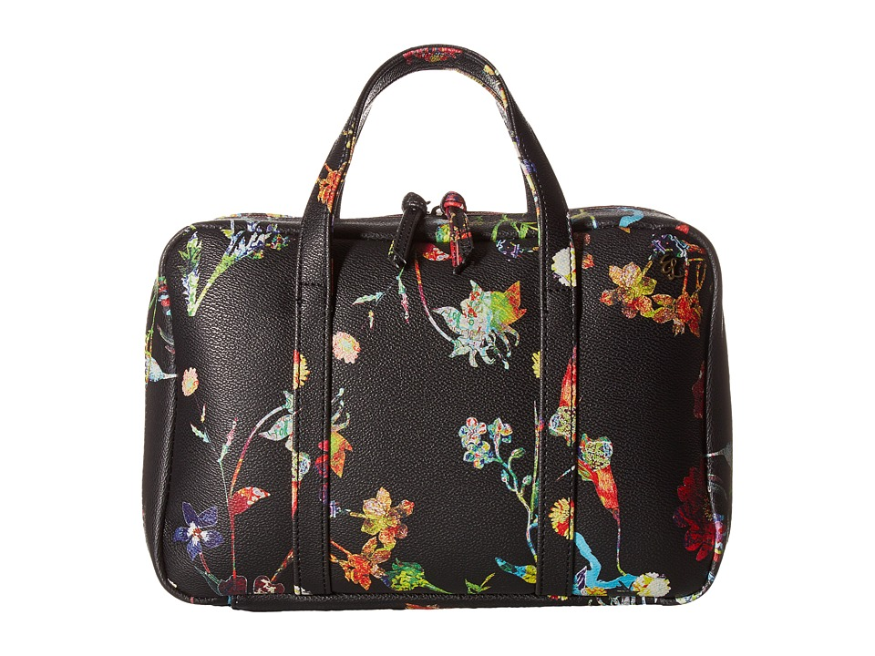 Elliott Lucca - Travel Case (Black Spring Botanica) Handbags
