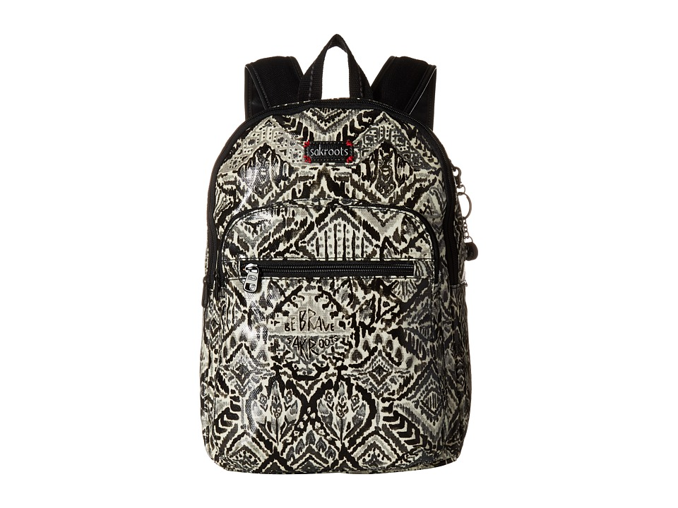 Sakroots - Artist Circle Mini Backpack (Jet Brave Beauti) Backpack Bags