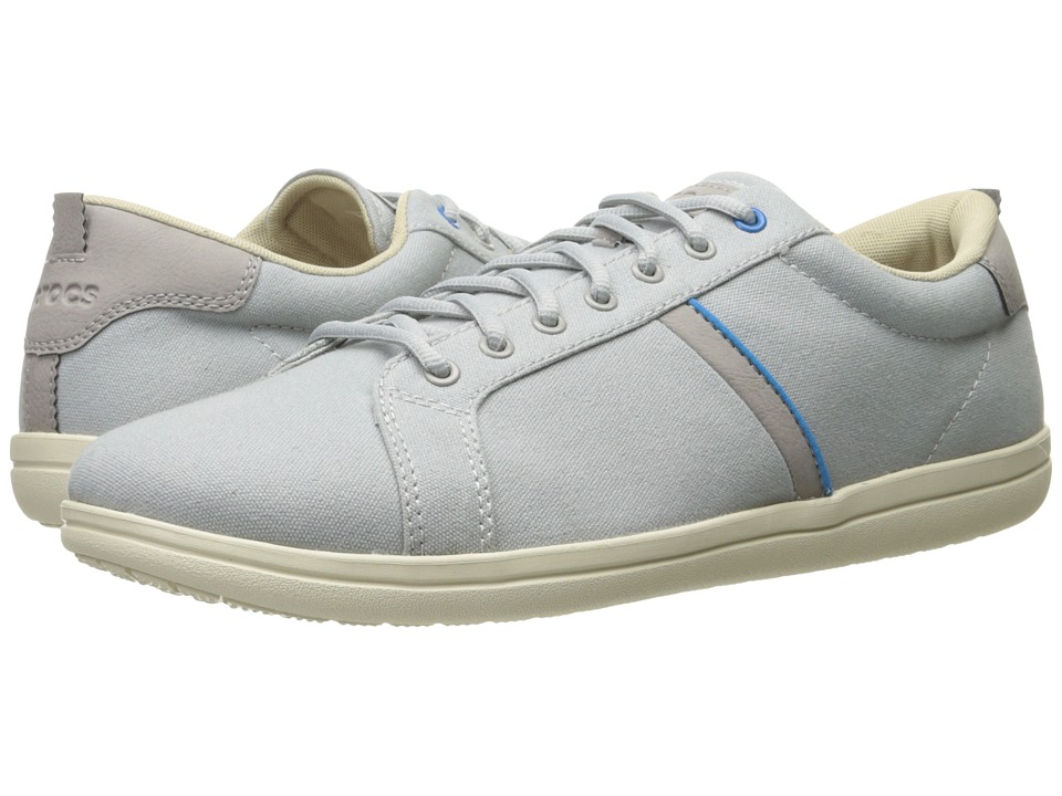 Crocs - Torino Lace-Up (Light Grey/Stucco) Men's Lace up casual Shoes