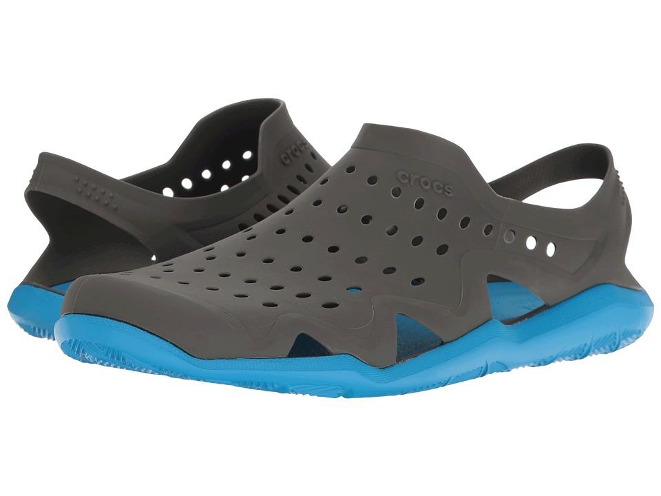 Crocs - Swiftwater Wave (Graphite/Ocean) Men's Sandals