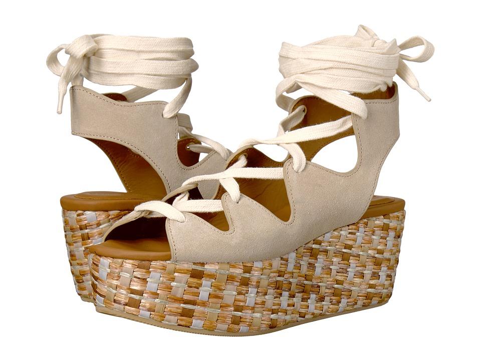 See by Chloe - SB24200 (Beige) Women's Wedge Shoes