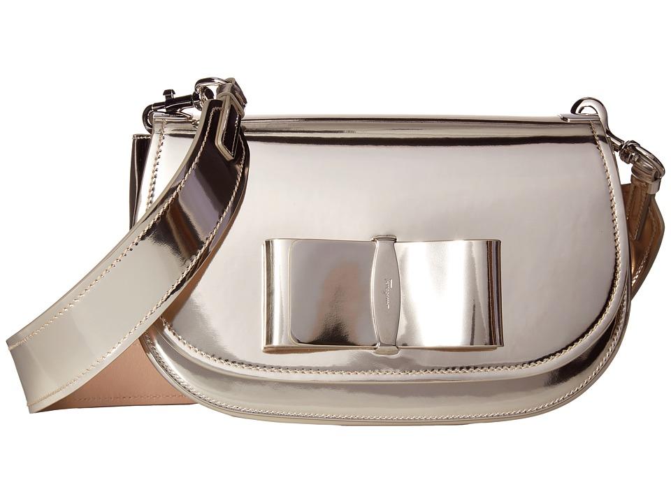 Salvatore Ferragamo - Anna 21G217 (Oro) Handbags