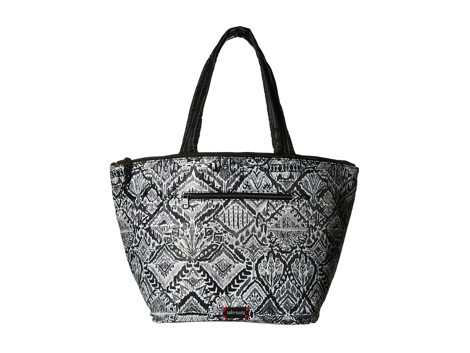 Sakroots - Kota Reversible Nylon Tote (Jet Brave Beauti) Tote Handbags