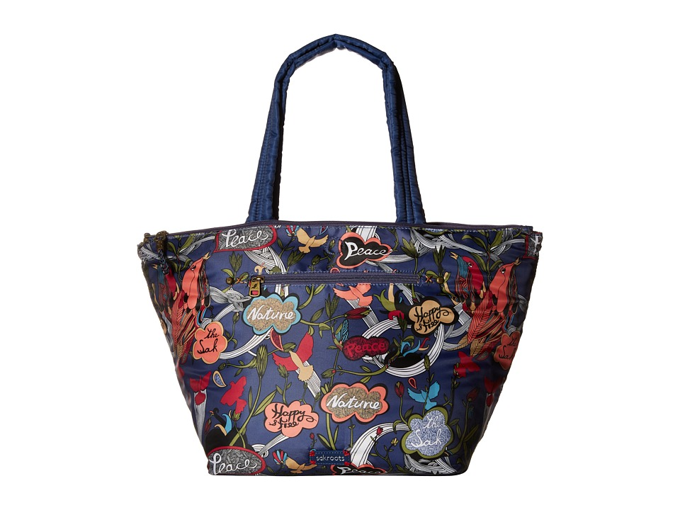 Sakroots - Kota Reversible Nylon Tote (River Peace) Tote Handbags