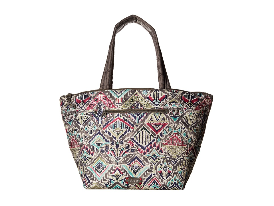 Sakroots - Kota Reversible Nylon Tote (Slate Brave Beauti) Tote Handbags