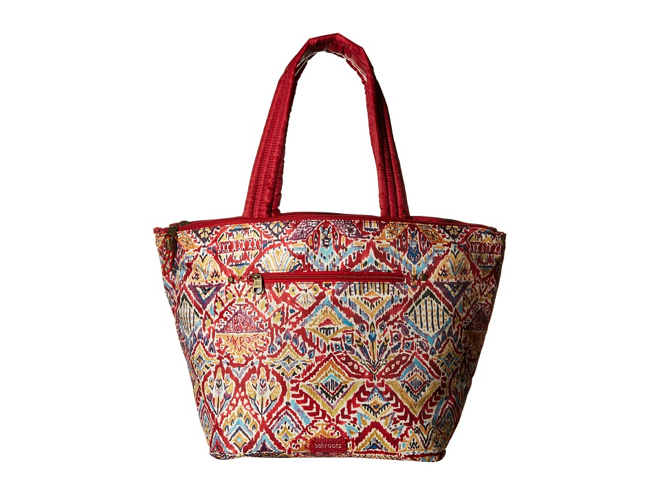 Sakroots - Kota Reversible Nylon Tote (Sweet Red Brave Beauti) Tote Handbags