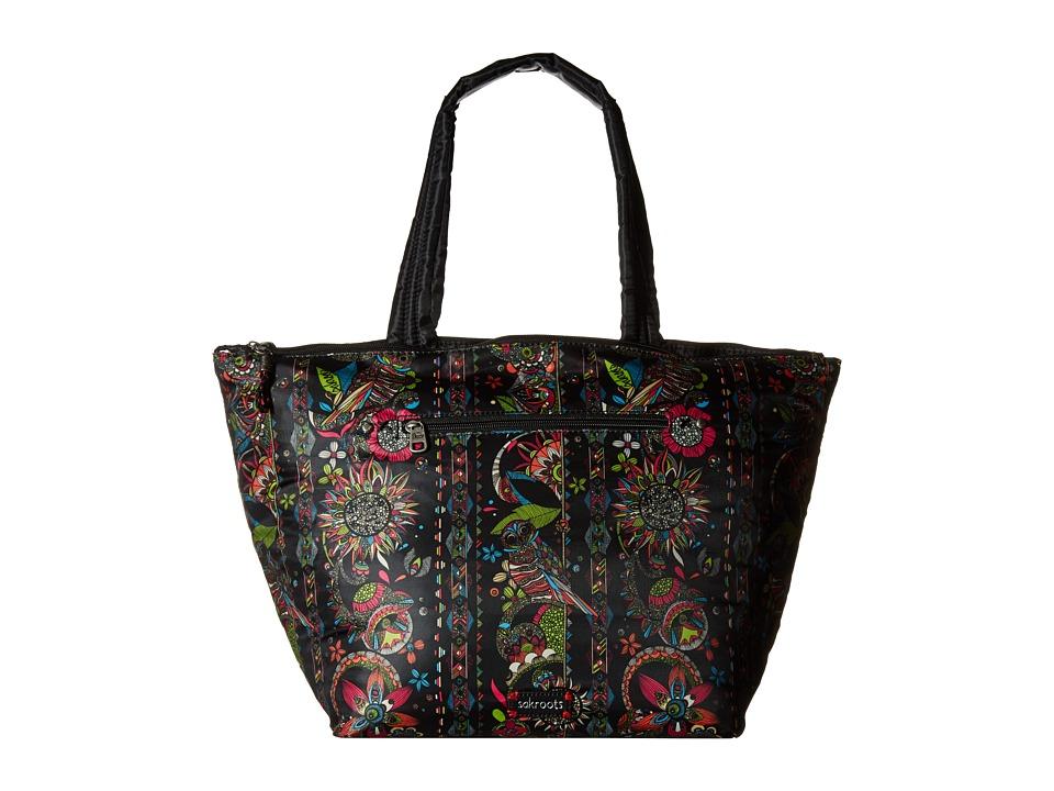 Sakroots - Kota Reversible Nylon Tote (Neon Spirit Desert) Tote Handbags