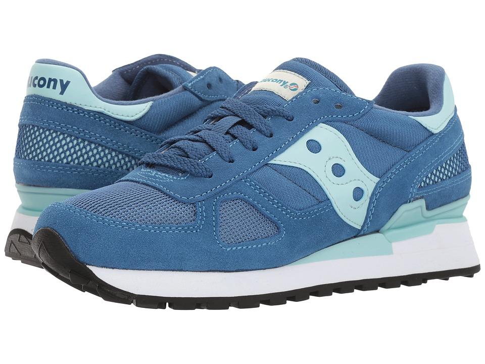 Saucony Originals - Shadow Original (Blue/Aqua) Women's Classic Shoes