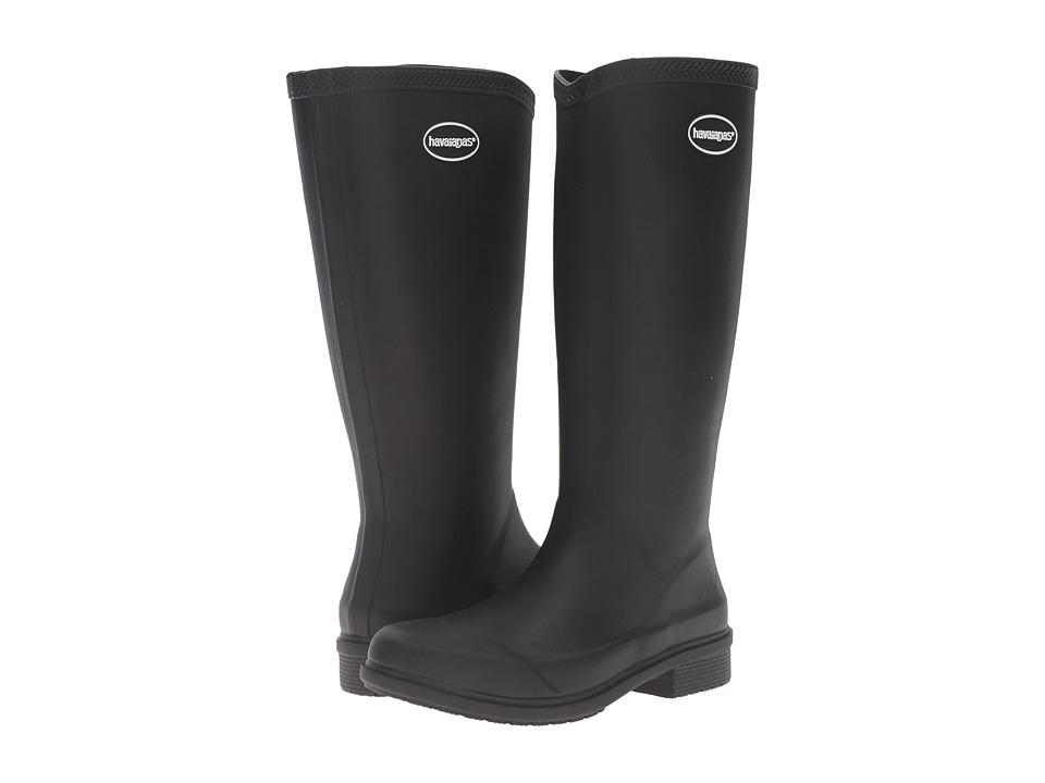 Havaianas - Galochas Hi Matte Rain Boot (Black) Women's Rain Boots