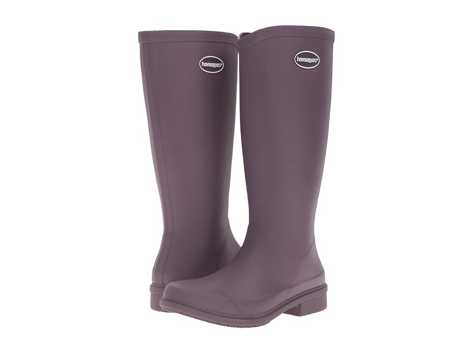 Havaianas Galochas Hi Matte Rain Boot (Purple) Women